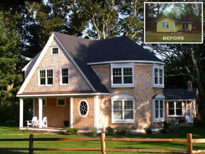 Shingle Style addition, by Duxbury MA builder