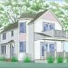 Cottage house plan, green built, Jamestown RI thumbnail